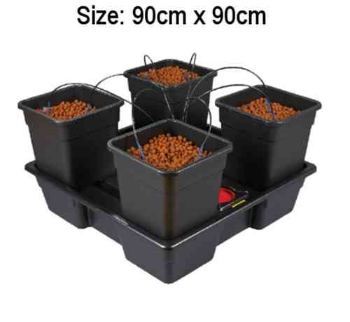 Wilma V2 - XL - 4 x 25 Litre Pot Dripper System