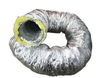 "Quality Acoustic Ducting 4"" (100mm) 5m"