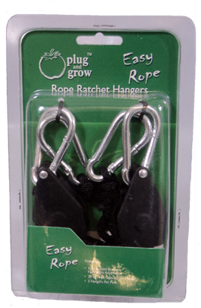 Plug and Grow Rope Ratchet Hangers