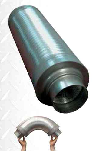 "Silencer Flexible  250mm (10"")"