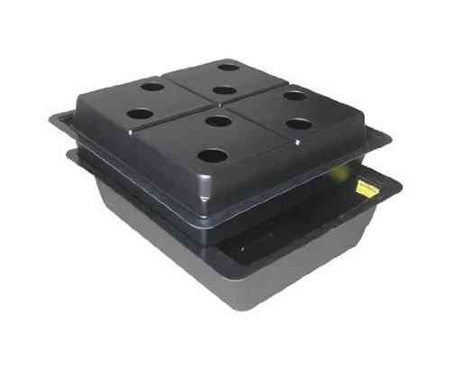 Amazon 8 Pot Large Hole (80mm) Aeroponic System