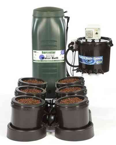 IWS Premium 6 Pot Flood & Drain (Ebb and Flood) Grow System