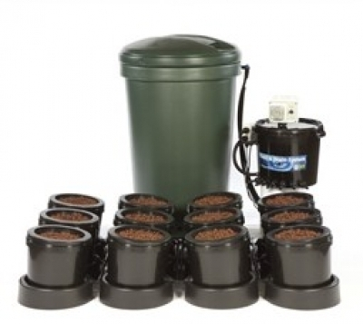 IWS Premium 12 Pot Flood & Drain (Ebb and Flood) Grow System.