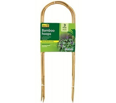 Bamboo Hoop Plant Supports  90cm 3pkt