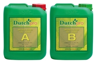 Dutch Pro - Original Bloom - Soil / Aarde A & B - 5 Litre  HW