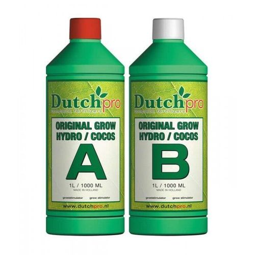 Dutch Pro  Original Grow  Hydro / Coco A&B 1 Litre