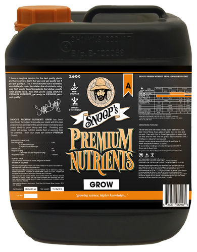 Snoop's Premium Nutrients - Grow