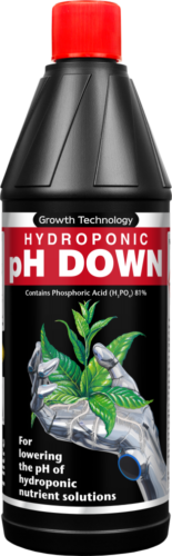 Growth Technology PH Down -1 litre