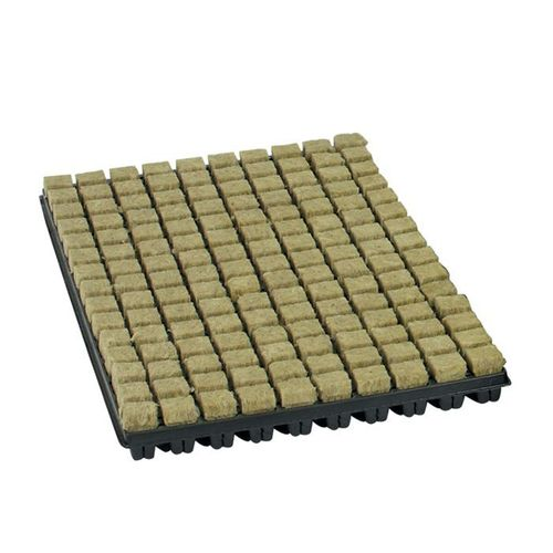 ROCK WOOL PROPOGATION CUBES - small - 150 tray