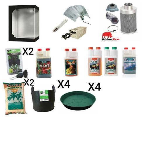 Complete Starter Kit - tent to nutrients, all you need to get underway