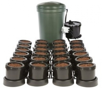 IWS Premium 24 Pot Flood & Drain (Ebb and Flood) Grow System